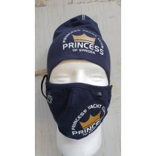 Munskydd med Princess club tryck 2-pack